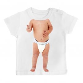 T-shirt bébé fun évian /06/