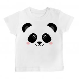 T-shirt bébé Mignon Panda