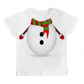 T-shirt bébé Bonhomme de neige