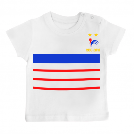 T-shirt bébé France foot 2...