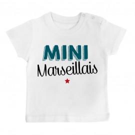 T-Shirt bébé Mini Marseillais