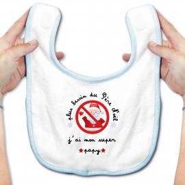 Bavoir bébé plus besoin du...