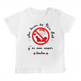 T-shirt bébé plus besoin du...