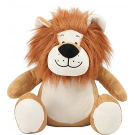 Peluche zippée Lion