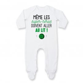 Pyjama bébé Au lit! Hulk