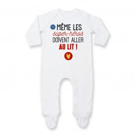 Pyjama bébé Au lit! Iron Man