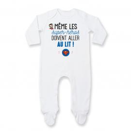 Pyjama bébé Au lit! Superman