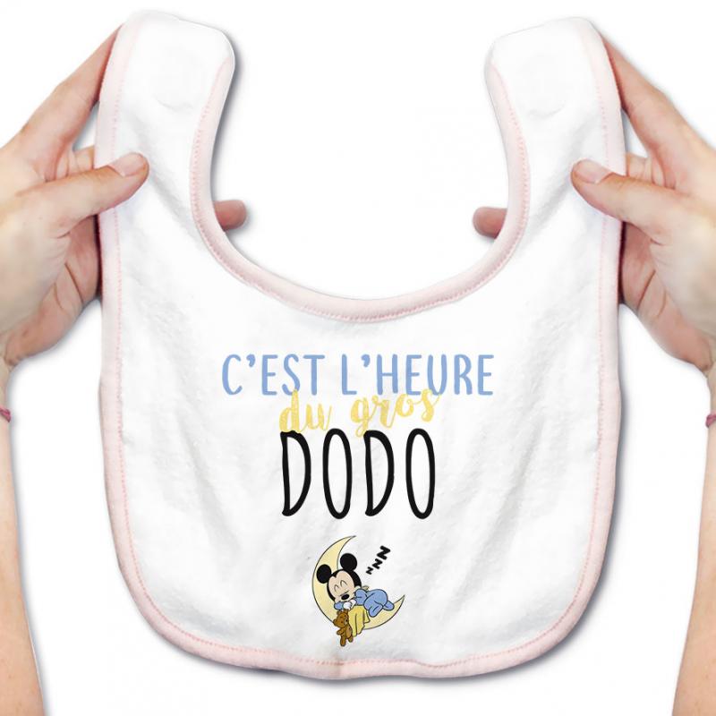 Bavoir bébé C'est l'heure du dodo