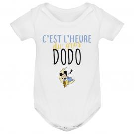 Body bébé C'est l'heure du dodo