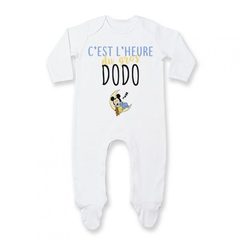 Pyjama bébé C'est l'heure du dodo