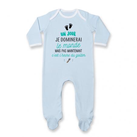 Pyjama bébé C'est l'heure du goûter