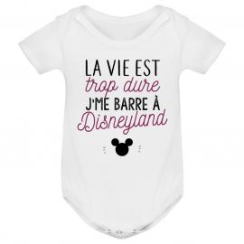 Body bébé J'me barre à Disneyland