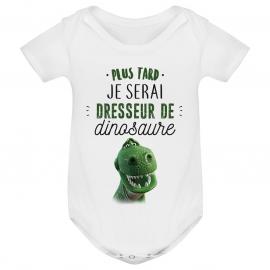 Body bébé Dresseur de dinosaure