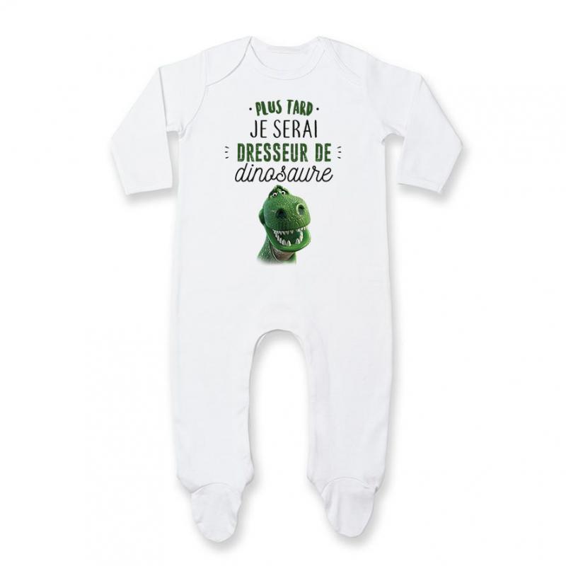 Pyjama bébé Dresseur de dinosaure
