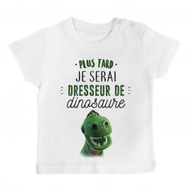 T-shirt bébé Dresseur de dinosaure