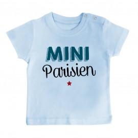 T-Shirt bébé Mini Parisien