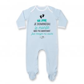 Pyjama bébé Faut changer ma couche