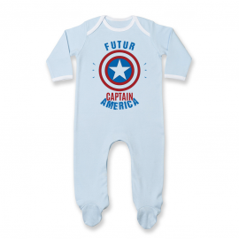 Pyjama bébé Futur Captain America