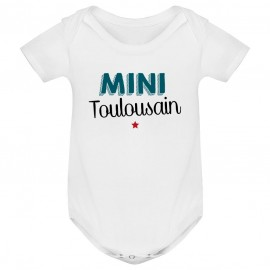 Body bébé Mini Toulousain