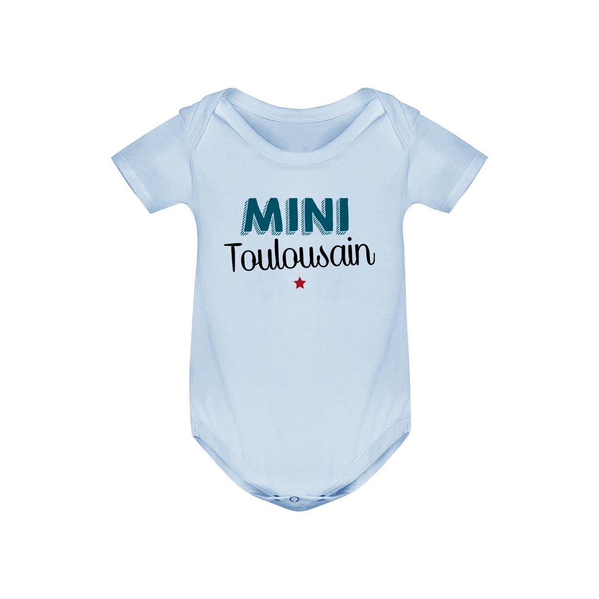 Body bébé Mini Toulousain