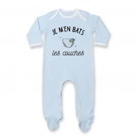 Pyjama bébé J'men bats les couches