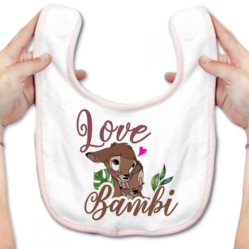 Bavoir bébé Love Bambi