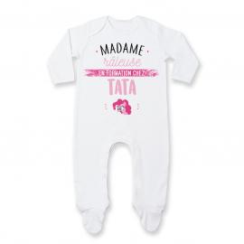 Pyjama bébé Madame râleuse - Tata