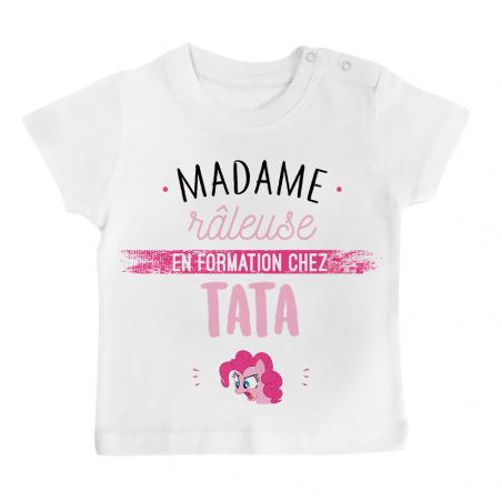 T-shirt bébé Madame râleuse - Tata