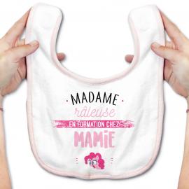Bavoir bébé Madame râleuse - Mamie