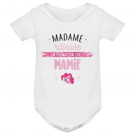 Body bébé Madame râleuse - Mamie