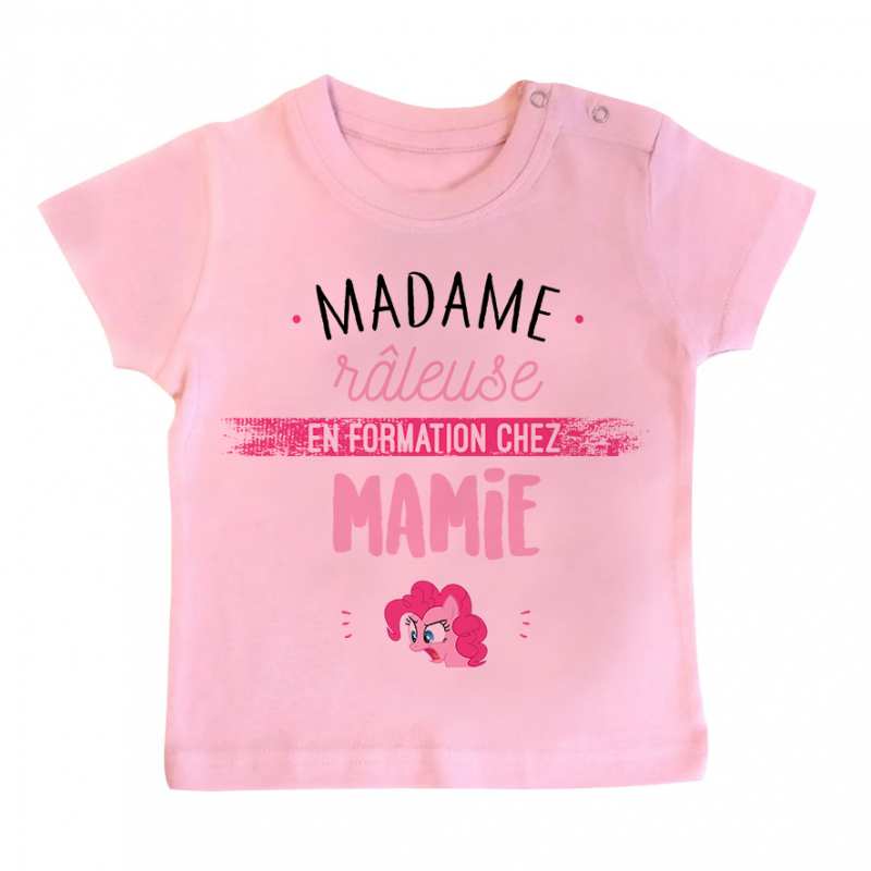 T-shirt bébé Madame râleuse - Mamie