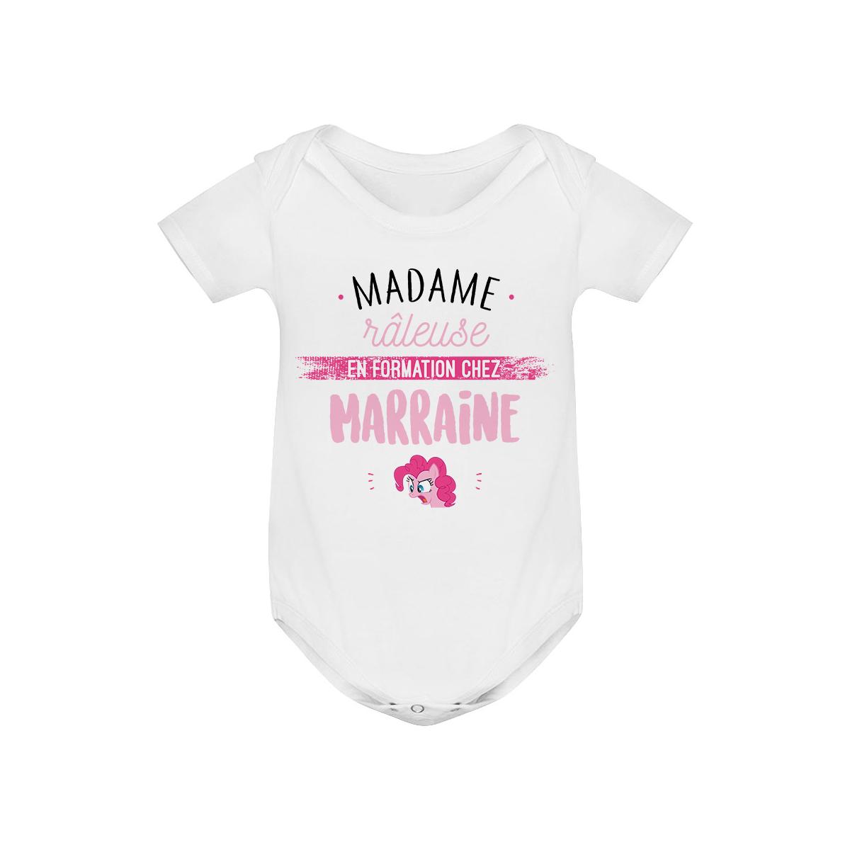 Body bébé Madame râleuse - Marraine