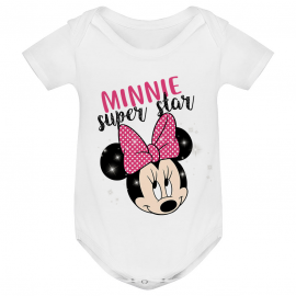 Body bébé Minnie Super Star