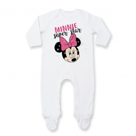 Pyjama bébé Minnie Super Star