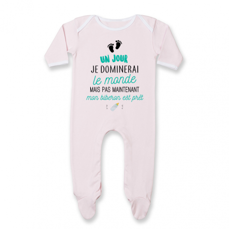 Pyjama bébé Mon biberon est prêt
