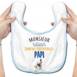 Bavoir bébé Monsieur râleur - Papy