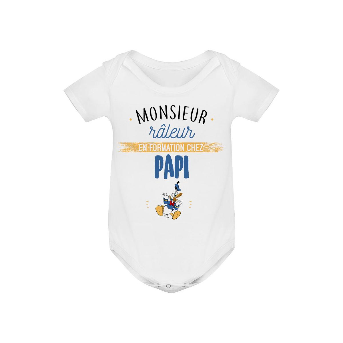 Body bébé Monsieur râleur - Papy
