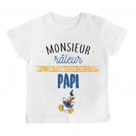 T-shirt bébé Monsieur râleur - Papy