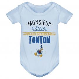 Body bébé Monsieur râleur - Tonton