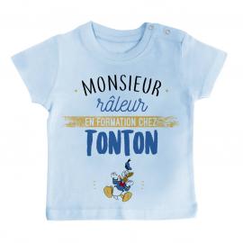 T-shirt bébé Monsieur râleur - Tonton