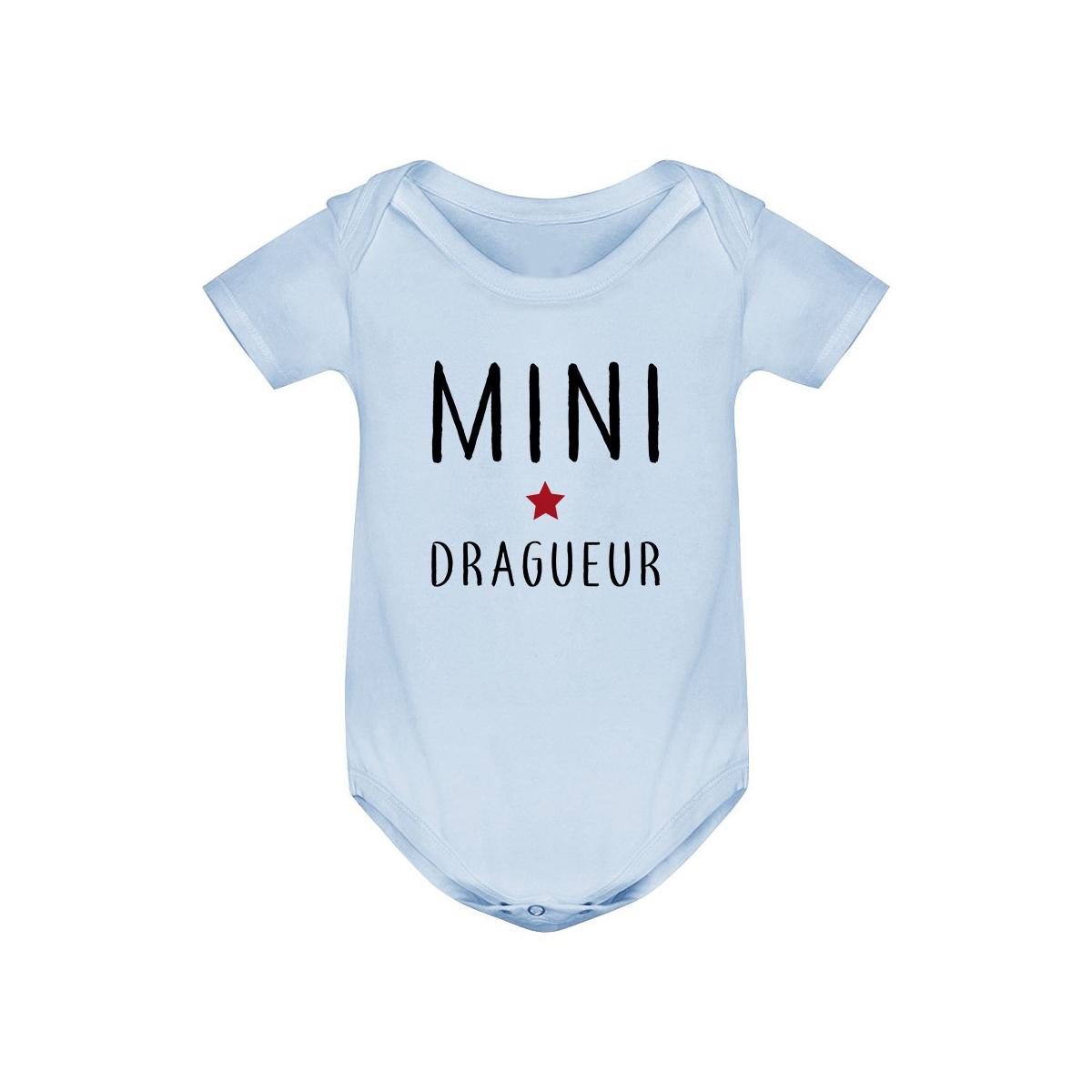 Body bébé Mini dragueur