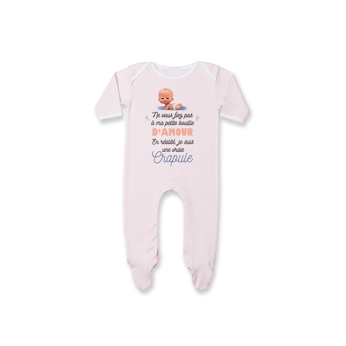 Pyjama bébé Une vraie crapule