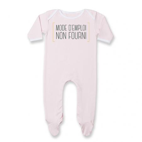 Pyjama bébé Mode d'emploi non fourni