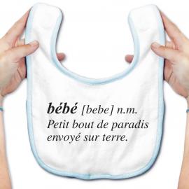 Bavoir bébé Bébé définition