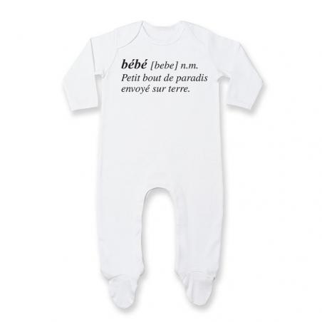 Pyjama bébé Bébé définition