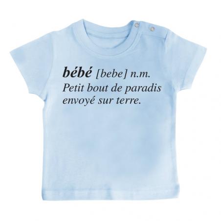 T-shirt bébé Bébé définition