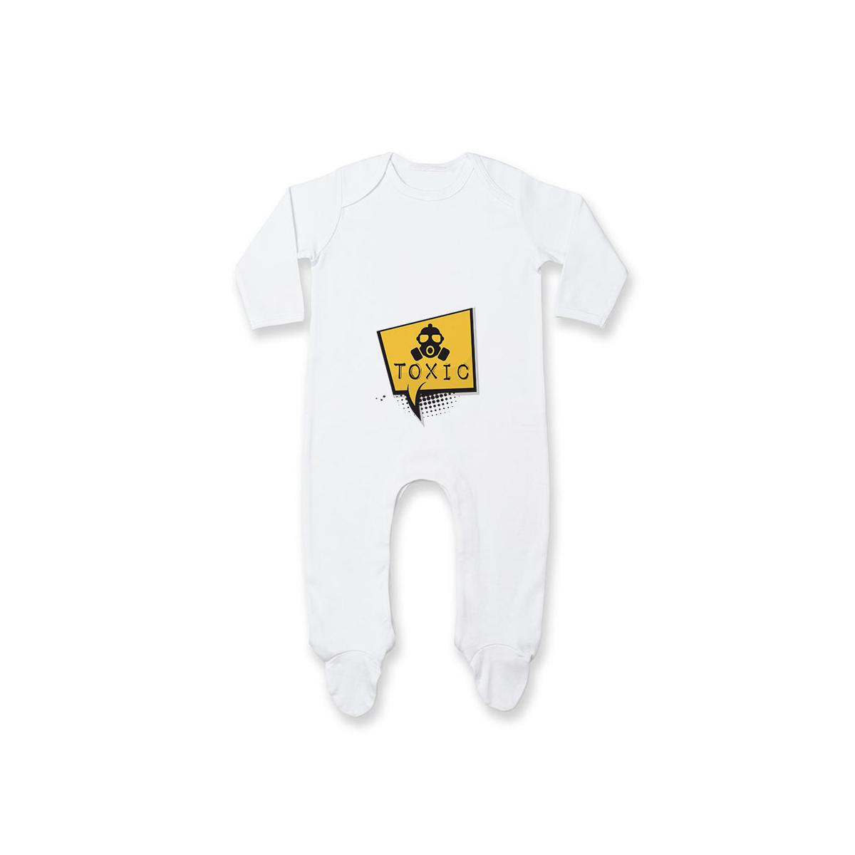 Pyjama bébé Toxic