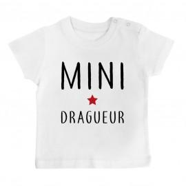T-Shirt bébé Mini dragueur
