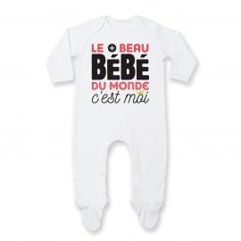 Pyjama bébé Bébé le plus beau du monde