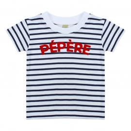 T-shirt Marinière Pépère